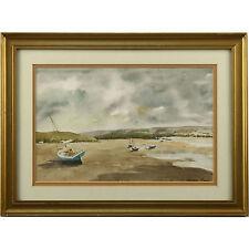 Original Watercolour Painting 41 x 31cm Low Tide After The Storm Jennifer Green