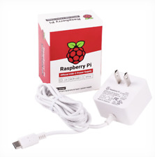 Official USB-C Power Supply for Raspberry Pi 4  - DC 5.1V, 3A  - US/White