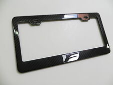 Brand New 100% REAL CARBON FIBER LICENSE PLATE FRAME F Sport IS *F