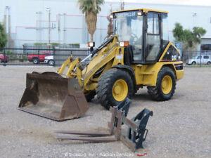 Caterpillar 906 Wheel Loader Tractor A/C Cab Aux Hyd Q/C 4-in-1 Bucket bidadoo