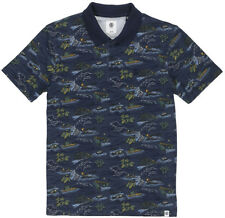 Element Colter Short Sleeve Shirt in River Rats Blue