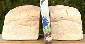Loaf of Bread Shaped Bookends Baked Bread Kitchen Bookends Recipe Book Bookends