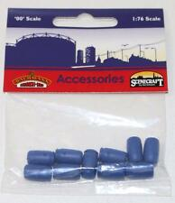 OO 1:76 44-526 Bachmann Scenecraft 10 x Industrial Chemical Drums FNQHobbys