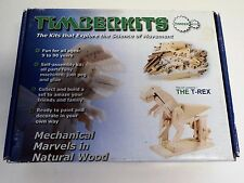 The T-Rex -Timberkits Wooden Construction 00006000  Moving Automaton Model Kit