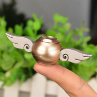 Gold Version 2 Harry Potter Golden Snitch Metal Fidget Spinner Toy Cupid Wings