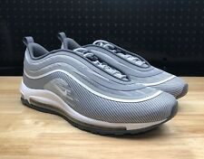 best loved 9c552 b0f9c Nike Air Max 97 Ultra  17 Wolf Grey White Silver Bullet 918356 007 Size 12.5