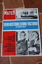 paris match 1018 delon jeanmaire J.O apollo 9 novembre 1968