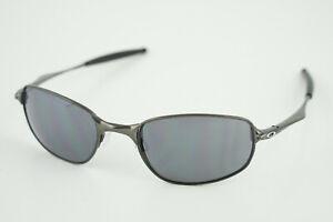 Oakley BIG SQUARE WIRE Pewter/Black Iridium Sunglasses Spring Hinge