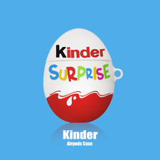 Kinder Surprise Eggs Silicone Case Cover For Apple AirPods 1st & 2nd Generation