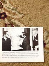 b3b ephemera Book Picture Reprint Frank Capra 1938 Selfridges