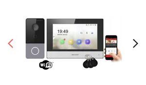 Hikvision IP Video Intercom Kit PoE WiFi