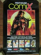 ~~ PENTHOUSE COMIX 20X30 POSTER  1994 ~ RARE ~  LAST ONE! ~~