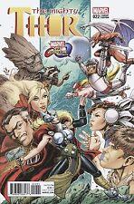 Marvel MIGHTY THOR #22 Chin Marvel VS Capcom Variant NM/M