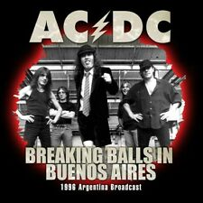 CD AC DC Live breaking balls in Buenos Aires 1996