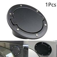 Black Car Fuel Filler Door Cover Gas Tank Cap For Jeep Wrangler JK YR