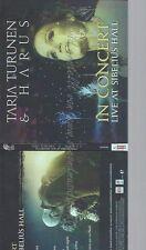 CD--TARJA TURUNEN -- -- IN CONCERT - LIVE AT SIBELIUS HALL