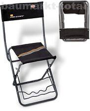 ZEBCO Pro Staff RH Chair Stuhl Angelstuhl mit Rutenhalter Anglerstuhl Klappstuhl