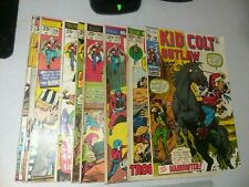 Kid Colt 9 Issue Bronze Age marvel Comics Lot Run Set Collection Western rawhide