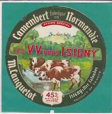 I891 FROMAGE CAMEMBERT LES VV PRES D ISIGNY LANQUETOT ISIGNY SUR MER CALVADOS