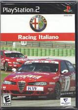 Video Game - Sony Playstation 2 - ALFA ROMEO RACING ITALIANO - Factory Sealed