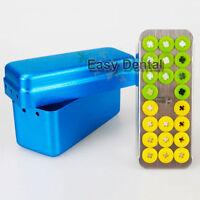 Dental Implant Drill External Irrigation Instrument Burs Tool Holder Box Block