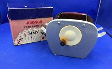 Johnson Card Shuffler Nestor Johnson Chicago Casino Hand Crank Model 65