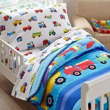 Olive Kids Trains, Planes, Trucks Toddler Comforter