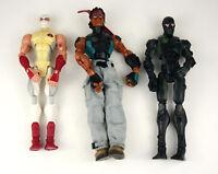 Lot of 3 Action Figures - Sigma Six 6 GI Joe Hasbro