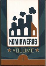 KOMIKWERKS VOL 1  SOFT COVER GN TPB DIGEST VARIETY OF ACTION & HUMOR COMICS NEW