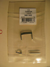 Brand New Omega Stainless Steel 18mm Watch Strap Buckle - Part No. 94511802