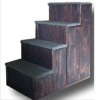 Pet step 34 Inch tall Wood Pet Step  34x34X16    4 STEP