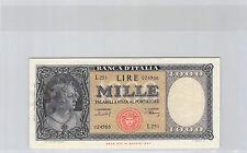 ITALIE 1000 LIRE 11.2.1949 L.251 N° 024966 PICK 88b