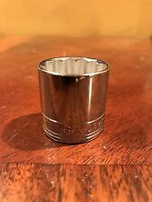 """Sk S-K  23mm 12 Point 3/8"""" Drive New Socket Made In USA Model 2323"""