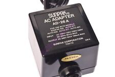 SUNPAK TYPE AD-26 AC ADAPTER FOR SUNPAK AUTO 411/511/611/522/544/555/622 -READ!
