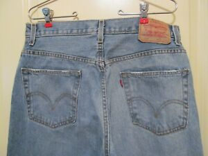 Levi's Men's 559 Relaxed Straight Leg Blue Jeans Size 33x34