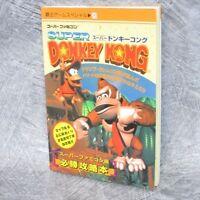 SUPER DONKEY KONG Guide SFC Book KO