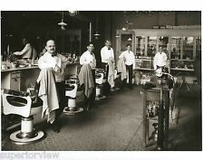 Vintage Barber Shop Old Time Barber Chairs Tonic Bottles Shoe Shine Barbers LOOK