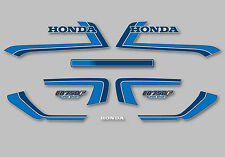 1982 Honda CB750F Super Sport - Silver decal set