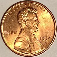 WOW! 1994 D Lincoln Cent Penny - Exceptional Gem Like High Grade Quality! - RD