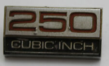 Used Ford Fairmont XW XY 250 Cubic Inch Guard Badge ARD1DB-16237-A Genuine