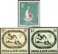 papua-Guinea 49,50-51 fine used / cancelled 1963 Red Cross, Sports