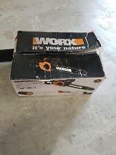 "Worx 8.0 Amp 14"" Electric ChainsawOpen and damaged box"