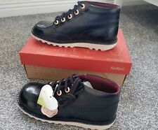 Womens patent Kickers Boots 6. Brand New In Box!