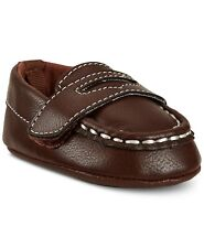 First Impressions Baby Boys Loafers, Brown, Size 4, 9-12 Months