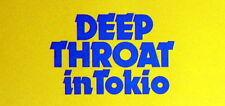 japan sex trash DEEP THROAT IN TOKYO lobby cards 12 original vintage stills 1975
