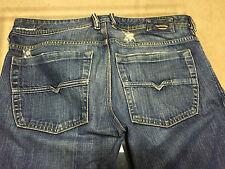 DIESEL mens ZATHAN 82H jeans 30X29 1/2 viker SAFADO brand KROOLEY thanaz DARRON