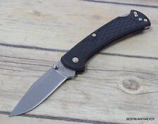 BUCK MADE IN USA SLIM RANGER FOLDING KNIFE WITH POCKET CLIP RAZOR SHARP