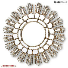 "Silver Decorative Mirrors 17.7"" - Mirror Cuzco style 'Modern Flair""- Home Decor"