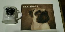 Pug Coffee Mug & Pug Shots Book by Jim Dratfield