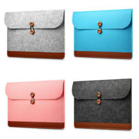 "Felt Notebook Laptop Sleeve Case Carry Bag for Macbook Air Pro 11""/12""/13""/15"""